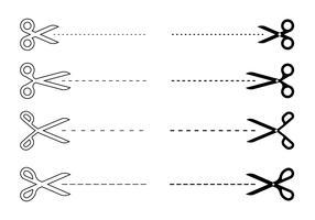 Cut Here Symbol