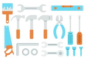 Free Hand Tools Icons Vector