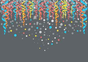 Free Colorfull Party Serpentine Background Vector