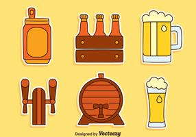 Beer Element Collection Vector