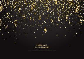 Golden Serpentine Background