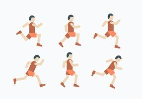 5K Run Icon Set