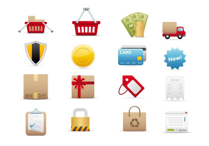 E-Commerce Vector Icon Pack