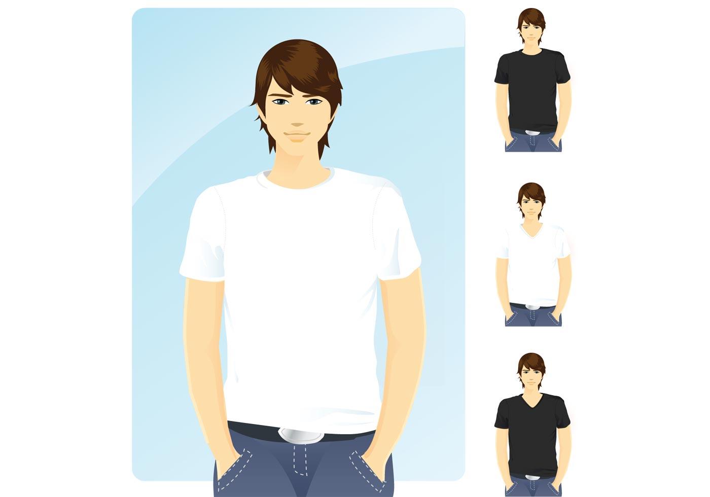 T-shirt-template-vectors