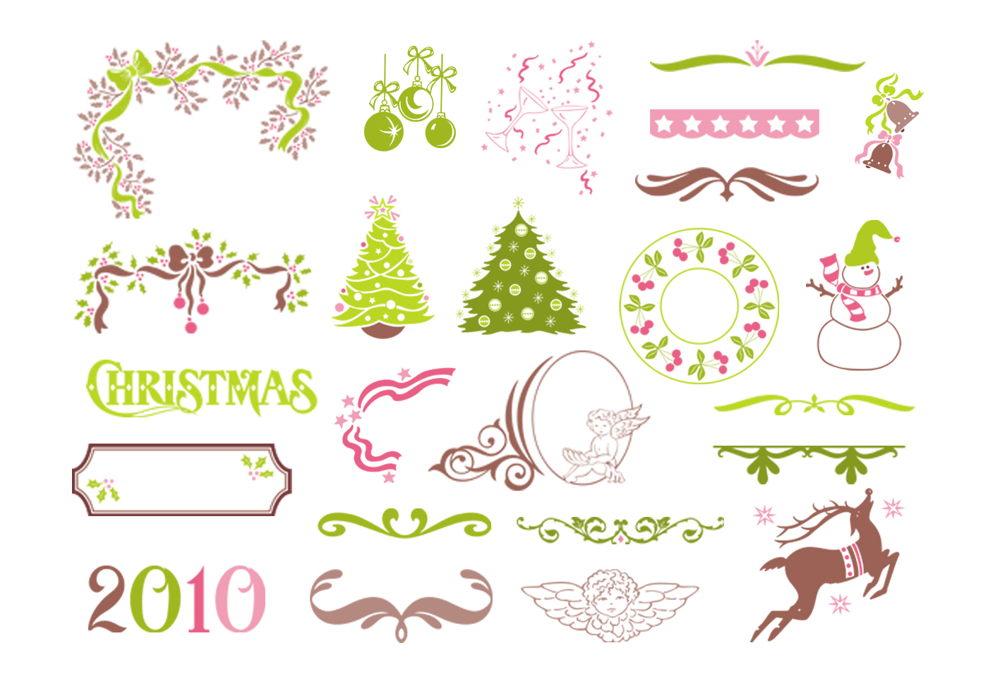 Christmas-vector-elements-pack
