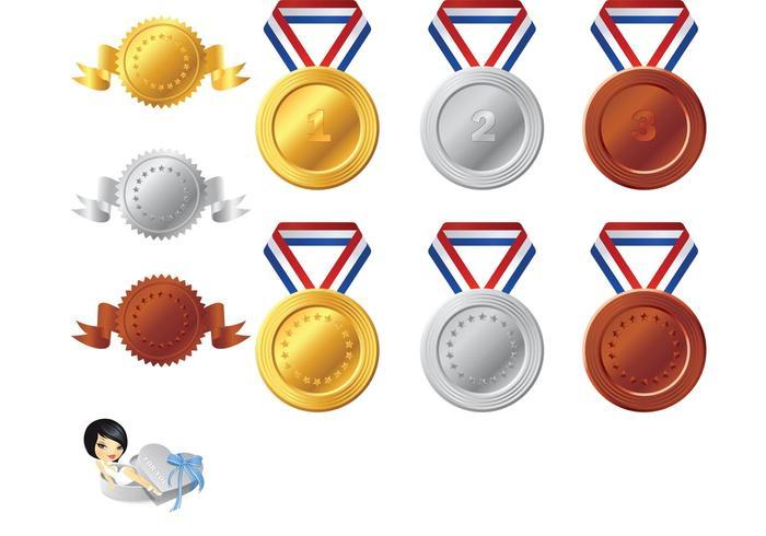 Medal Vector Elements Pack