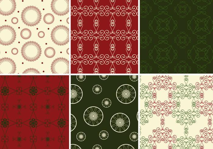 Rich Christmas Illustrator Patterns
