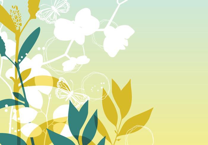 Orchid Vector Wallpaper