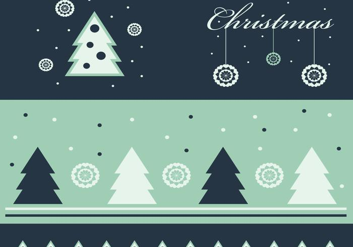 Fond d'écran vert et papier peint de Noël