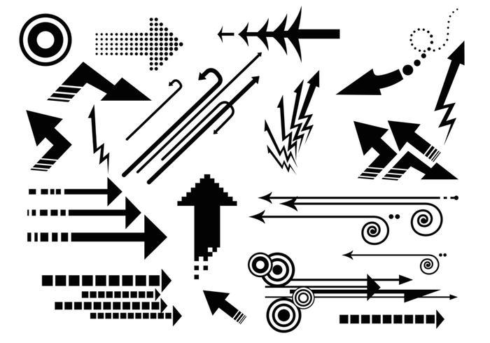 Arrow Vector Pack - Abstract Arrows