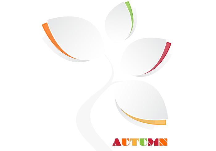 Autumn Tree Wallpaper Vector