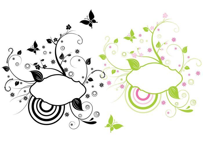 Modern Floral Vector Banner Pack