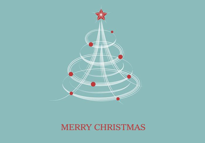 Merry Christmas Vector Wallpaper