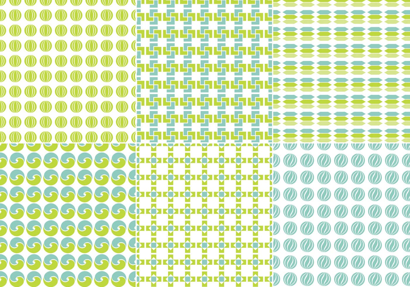 Blue-and-green-seamless-vector-pattern-pack