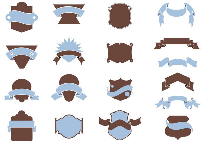 Heraldry Shield Vector Pack