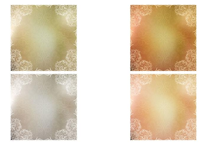 Metallic Swirly Texture Vector Pack