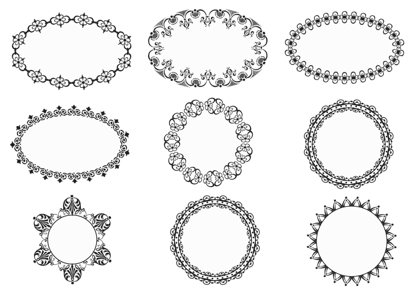 Vintage Ornate Vector Vintage Ornate Frames Vector