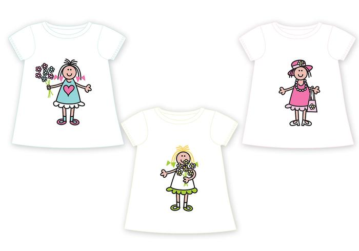 Kids T-Shirt Vector Pack