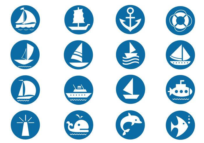 Nautical Vector Symbols Pack