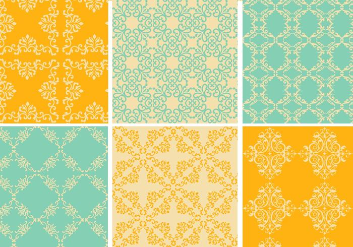 Vintage Pattern Vector Pack