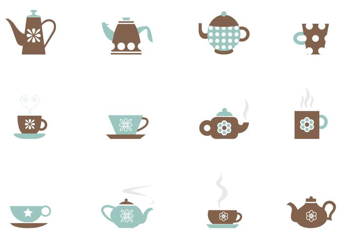Tea and Coffee Vector Pack