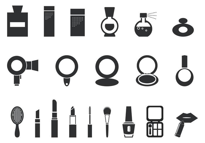 Makeup and Cosmetic Vector Pack - Download Free Vector Art, Stock ...