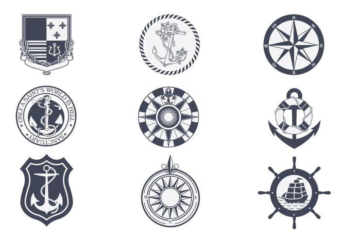 Vintage Nautical Vector Pack