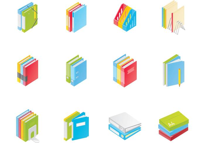 Office File Folder Vector Pack