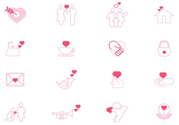 Signs of Love Vector Pack