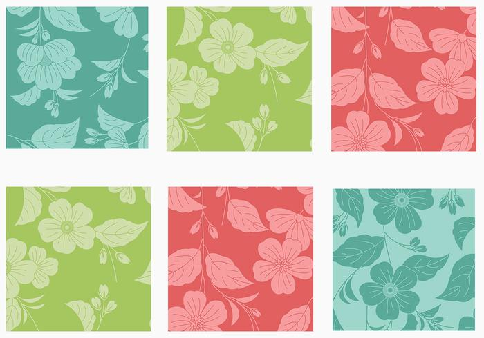 Big Floral Background Vector Pack