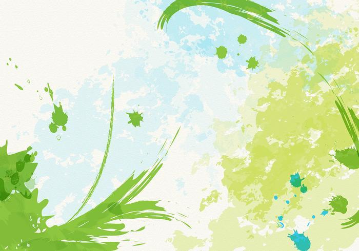 Textured Watercolor Vector en Paint Vector Pack