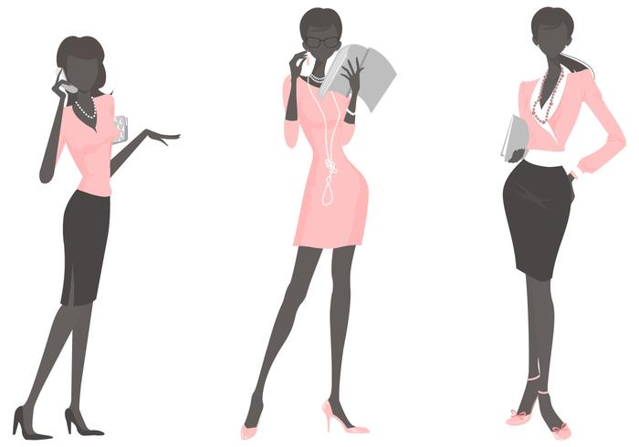 Business Woman Vector Pack