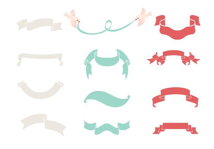 Ribbon Banner Vector Pack