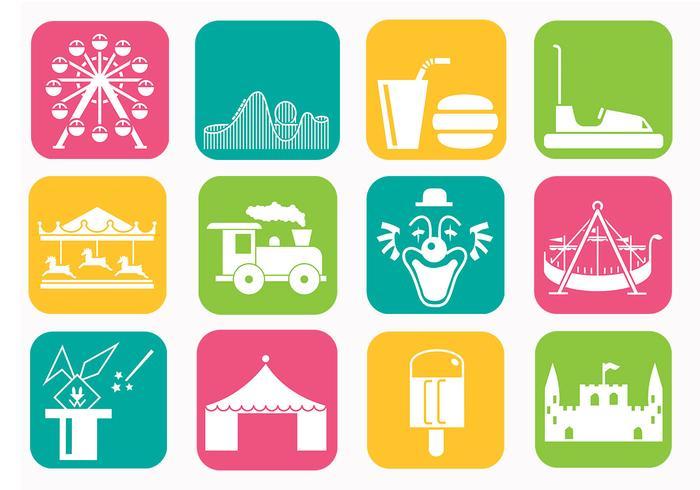 Amusement Park Vector Pack