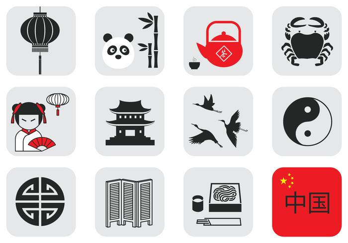 Chinese Culture Vector Element Pack