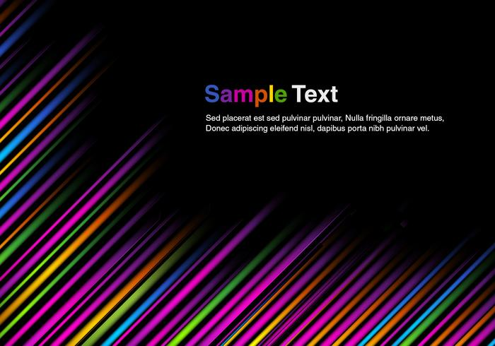Bold Stripes Vector Background