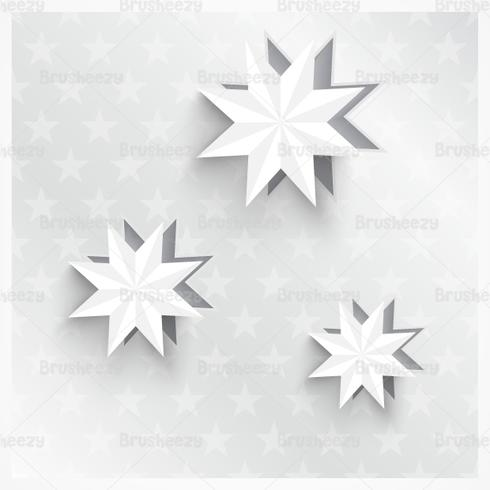 3D Holiday Star Vector Pack