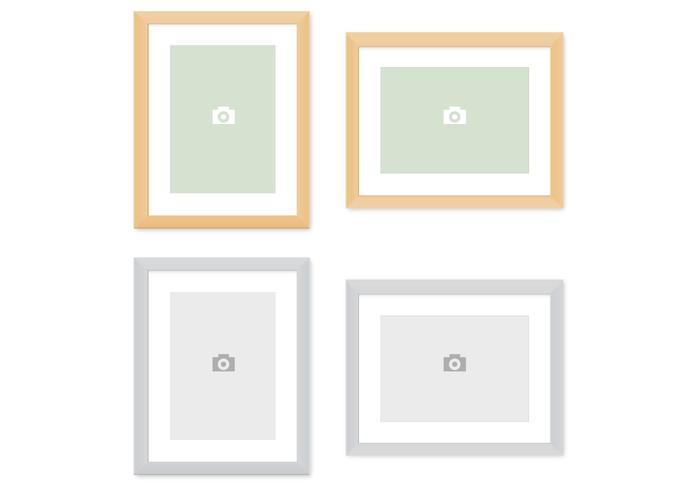 Modern Picture Frames Vector Pack