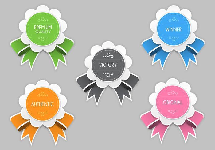 Bright Modern Award Vector Pack
