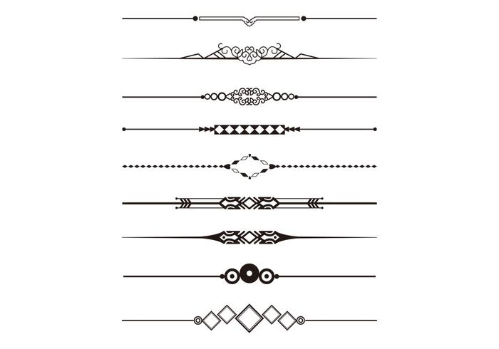 Decorative Divider Vector Pack - Download Free Vector Art ...