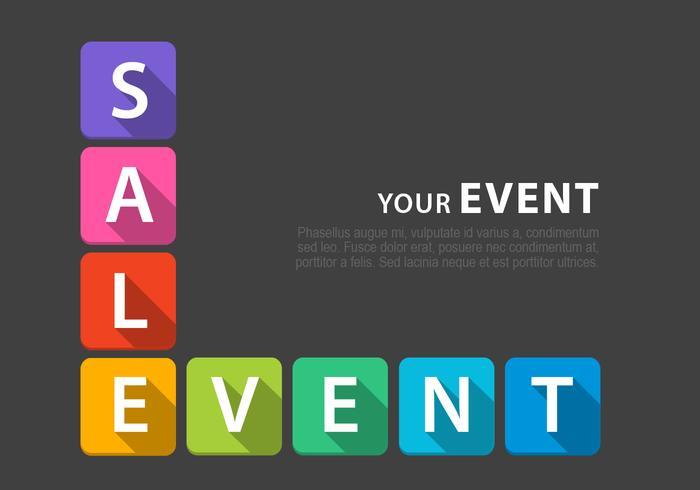 Super Sale Event Achtergrond Vector Pack