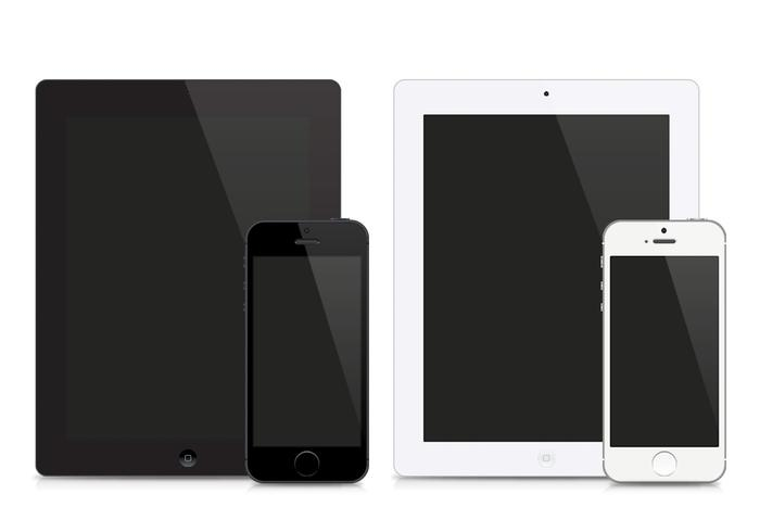 IPad and iPhone Vectors - Download Free Vector Art, Stock ...