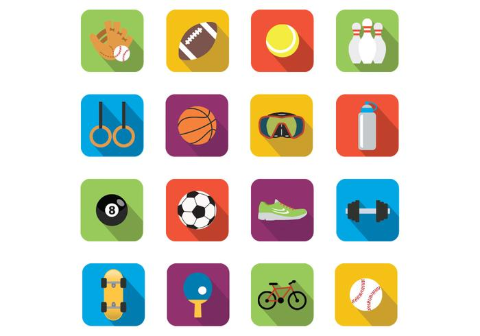 Vectores De Iconos De Deportes