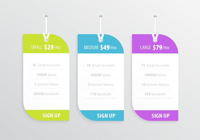 Pricing Label Vector Pack