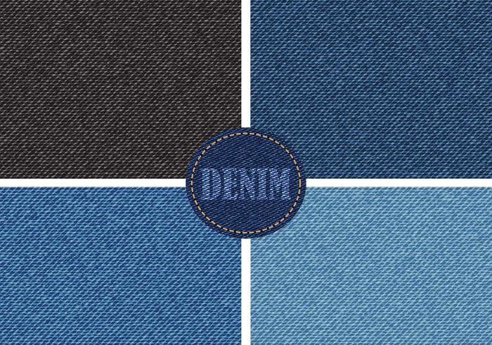 Denim Texture Vector Pack