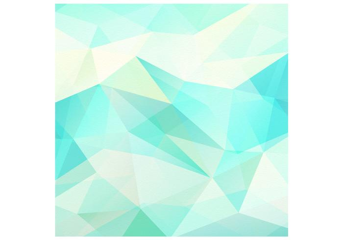 Textured Abstract Polygonal Background Vector