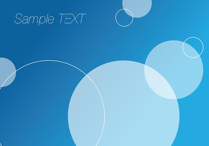 Abstract Blue Background Vectors