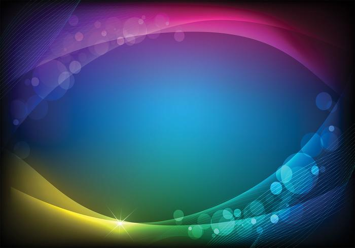 Bokeh Light Background Two Vector