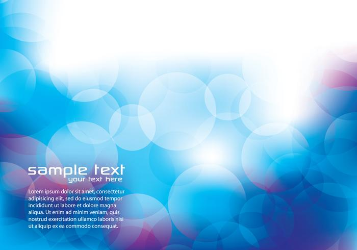 Blue and Purple Abstract Circle Background Vector