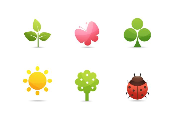 Nature Icons Vector Collection